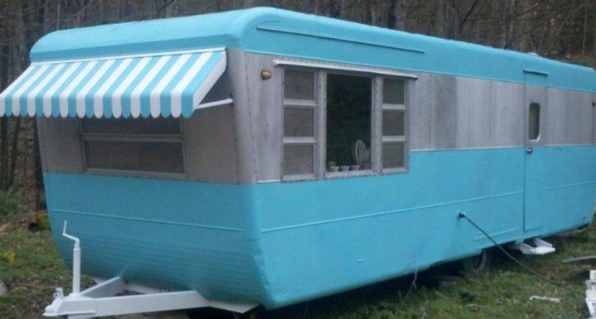 Sale Ebay Vintage Pacemaker Travel Trailer Mobile Home