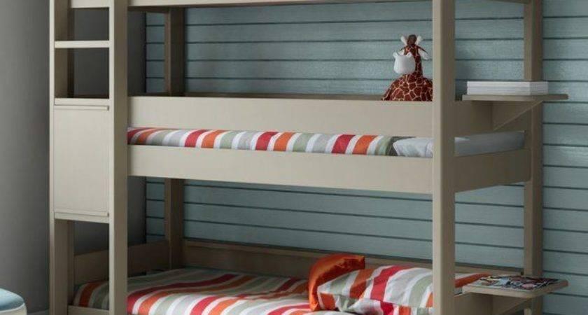 Saving Space Staying Stylish Triple Bunk Beds