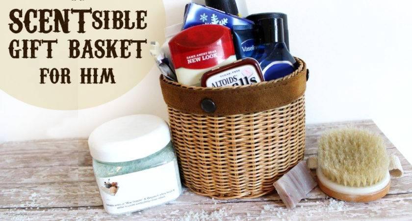 Scentsible Gift Basket Him Printable