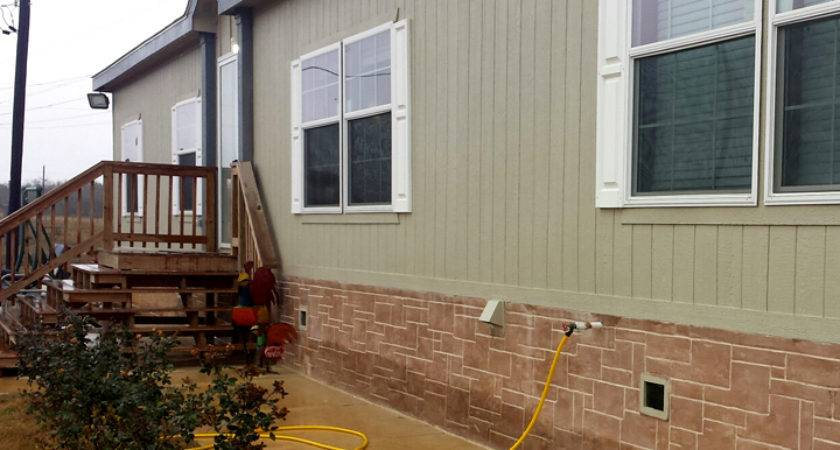 Segment Affordable Double Wide Skirting Ideas Your Mobile