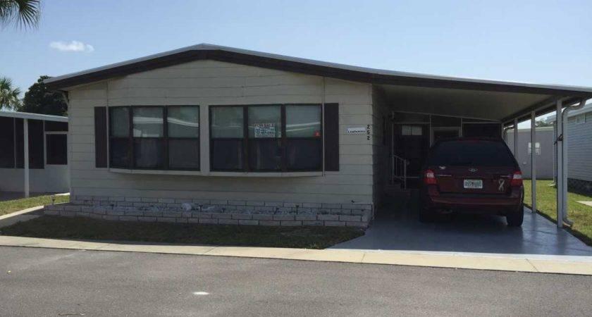 Senior Retirement Living Twin Mobile Home Sale Largo