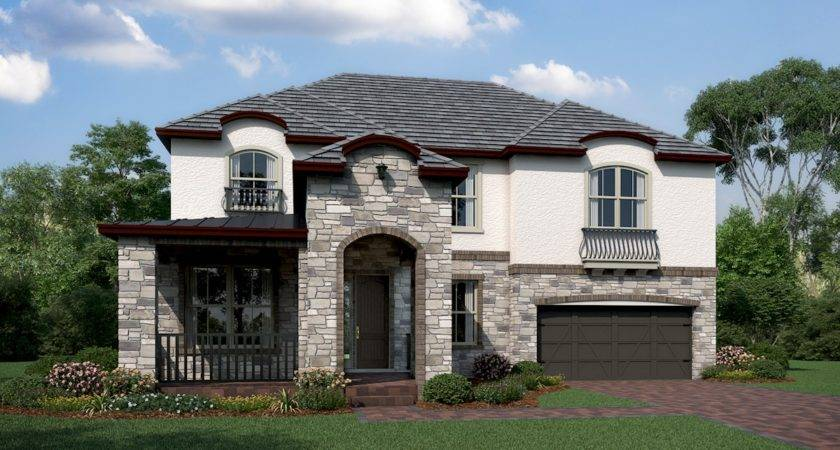Sequoia Home Plan Belle Vie Orlando Beazer