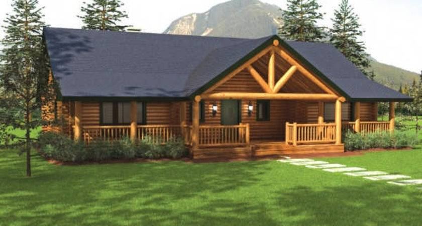 Sequoia Home Plan Big Foot Log Timber Homes