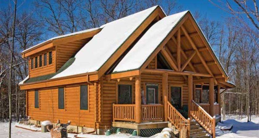 Sequoia Log Home Plan Jim Barna Timber Homes
