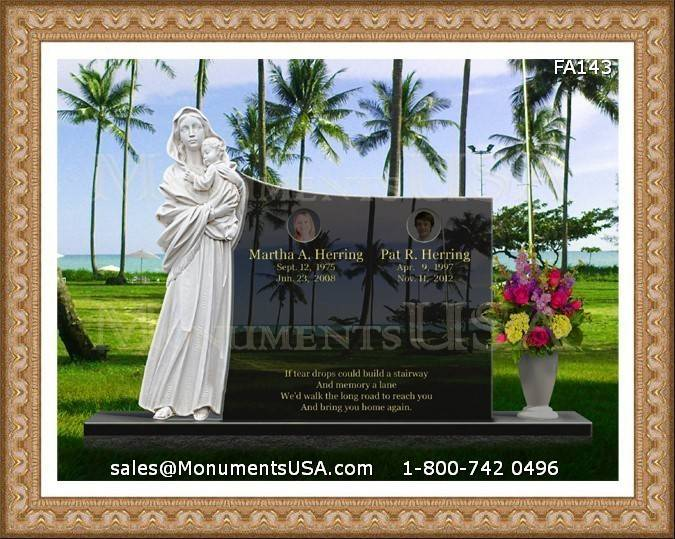 Ship All Kinds Headstones Monuments Any Place United