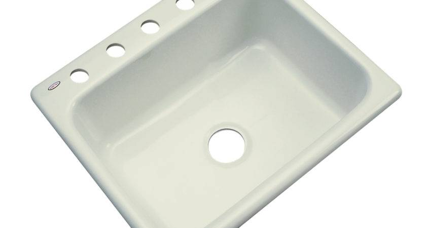 Shop Dekor Master Single Basin Drop Acrylic Kitchen