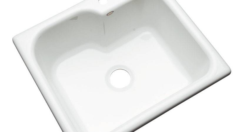 Shop Dekor Master White Single Basin Acrylic