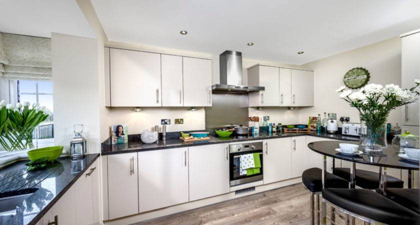 Show Homes Littlehampton Transitional Kitchen
