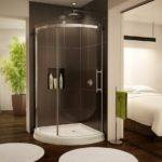 Shower Room Open Views Bathroom Ideas Showy Glass Doors