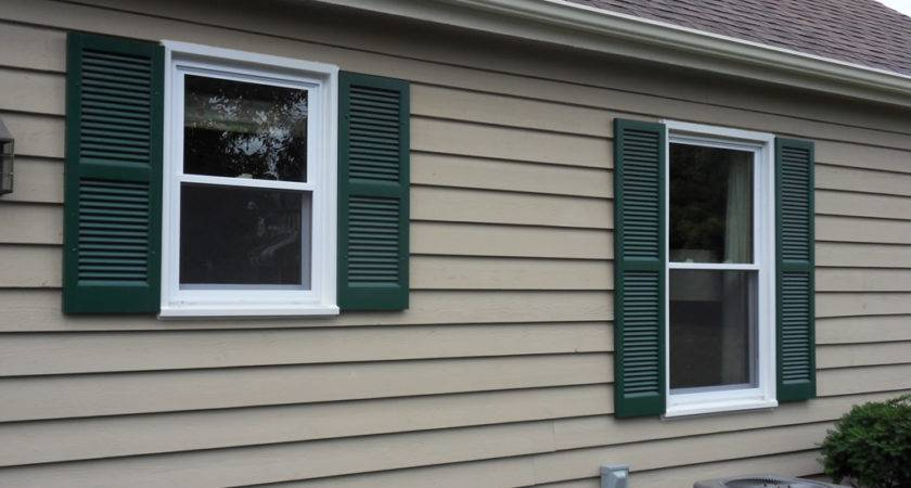 Shutters Exterior Windows Vinyl Window