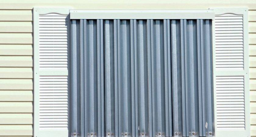 Shutters Mobile Home Storm Safety