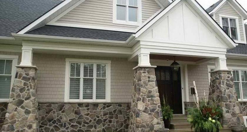 Siding Exterior Home Decor Simulated Stone
