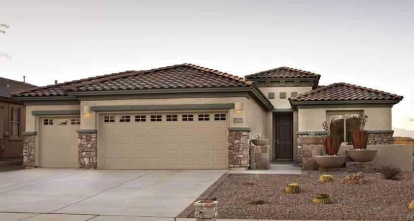 Sierra Vista Pima New Home Plan Vail Del Webb Builders