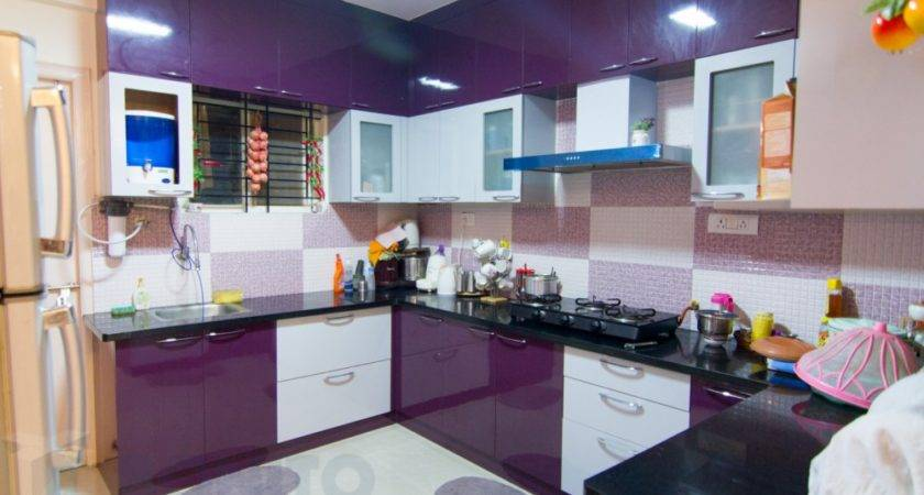 Simple Modular Kitchen Decorations Indian Homes Photos