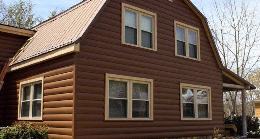 Simulated Log Siding Offers Affordability Appeal