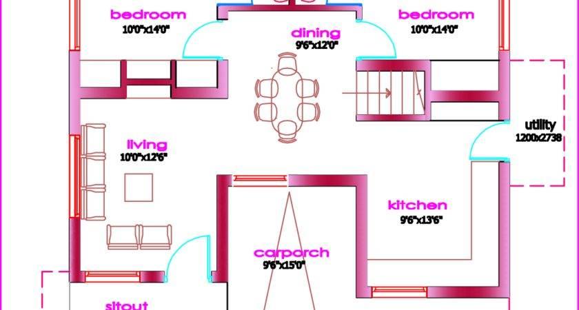 Single Floor House Plan Kerala
