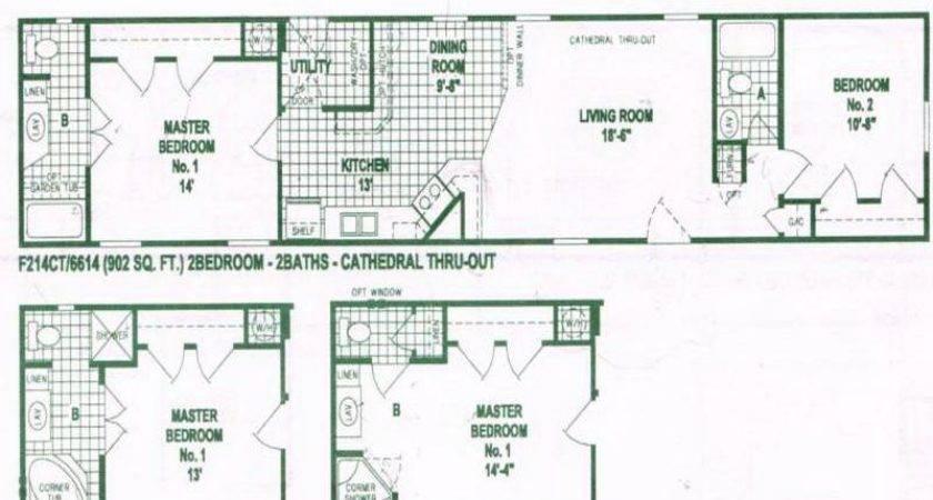 Single Wide Mobile Home Designs Floor
