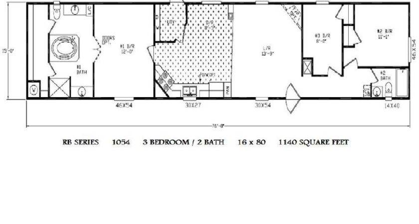 Single Wide Mobile Home Floor Plans Homes Does