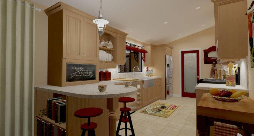 Single Wide Mobile Home Interior Remodel Remodelling Money