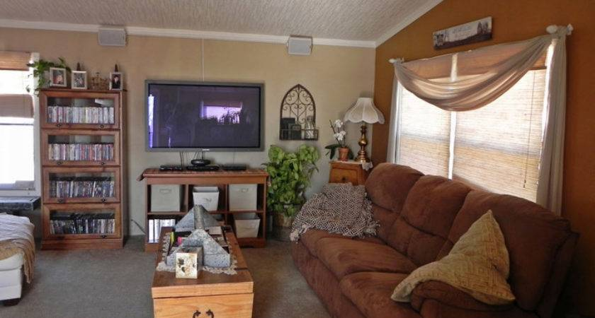 Single Wide Mobile Home Living Room Ideas Homes