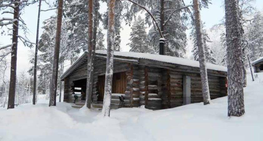Ski Holiday Kelorinne Log Cabins Salla Finland Lapland Take