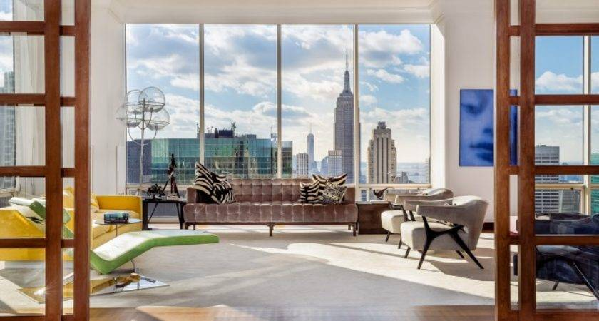 Slideshow Inside Square Metre Penthouse Occupying