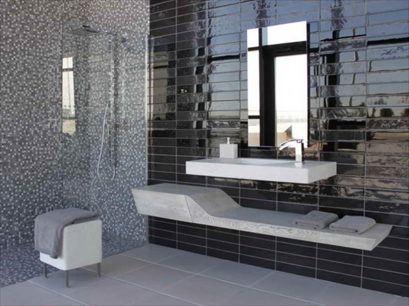 Small Bathroom Tile Ideas Remodeling Modern