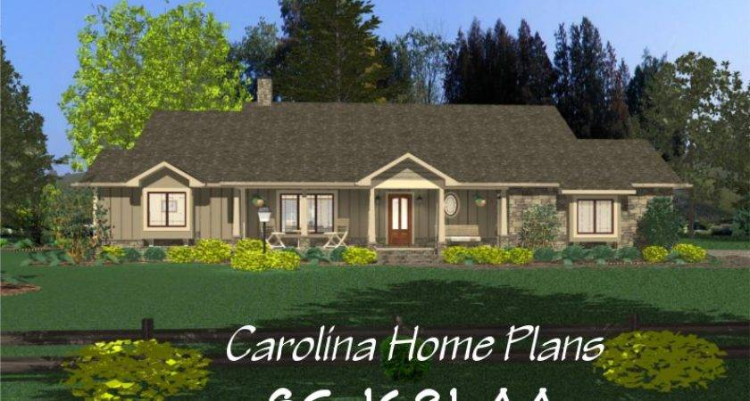 Small Country Ranch Style House Plan Affordable