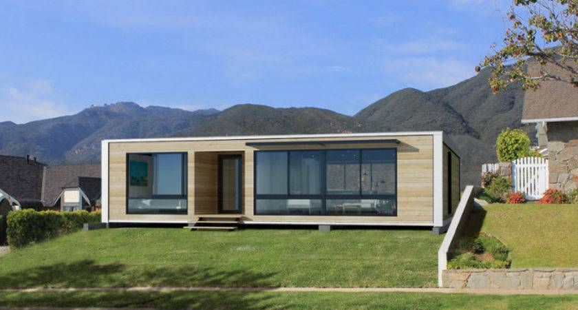 Small Green Homes Modular Modern Home