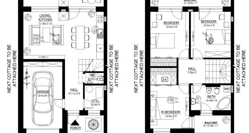 Small House Floor Plans Under Main Plan