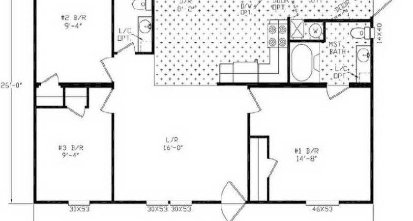 Small Manufactured Homes Floor Plans Double Wide Mobile Home