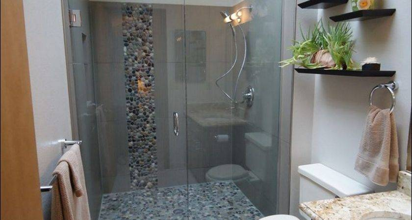Small Master Bathroom Shower Designs Walk