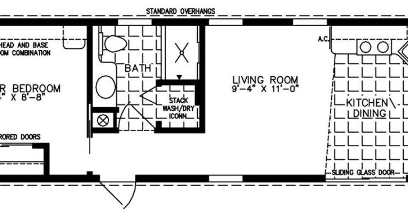 Small Mobile Homes Home Floor Plans