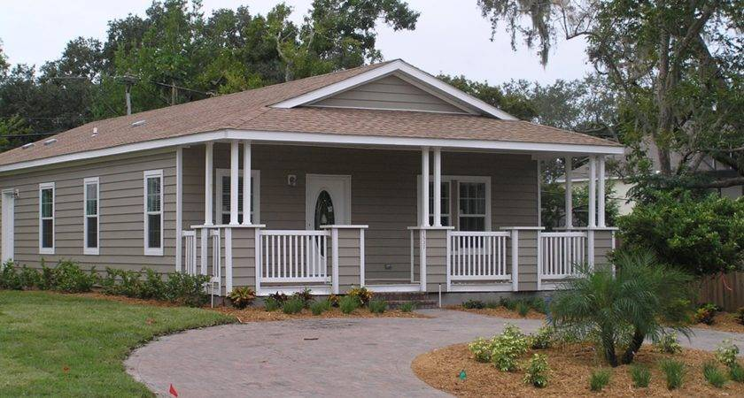 Small Mobile Homes Porches