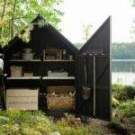 Small Modern Modular Houses Put Lake Shore Digsdigs