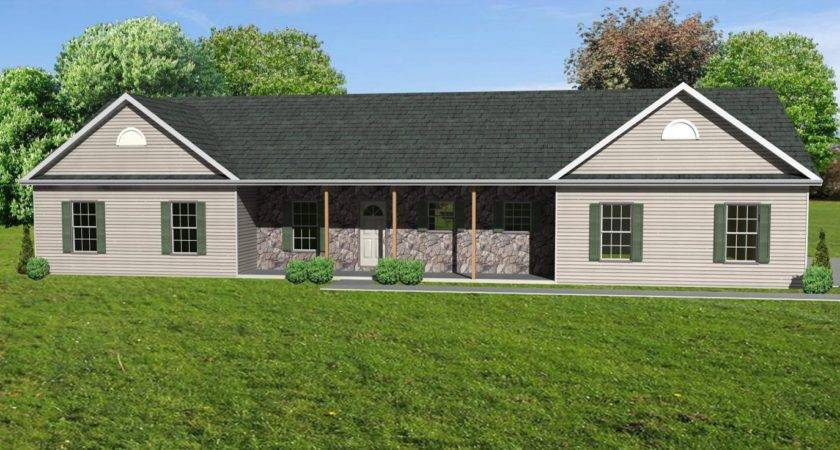 Small Ranch House Plans Front Porch