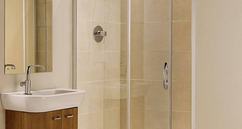 Small Shower Ideas Get Spacious Bathroom