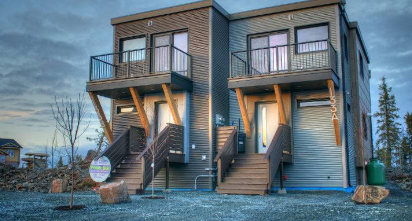 Smplymod Prefab Duplex Harnesses Energy Efficient Design Canada