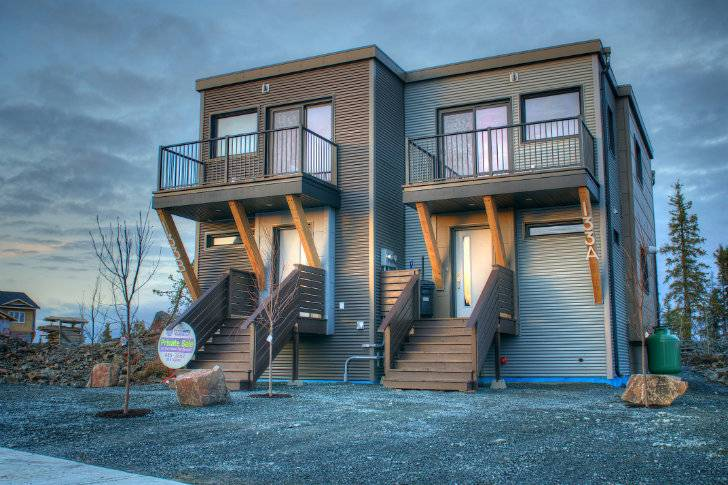 Smplymod Prefab Duplex Harnesses Energy Efficient Design Canada