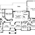 Southwest House Plan Barstow Floor