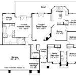 Southwest House Plan Cibola Floor