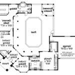 Southwest House Plan Savannah Floor