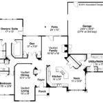 Southwestern House Plan Mesilla Floor