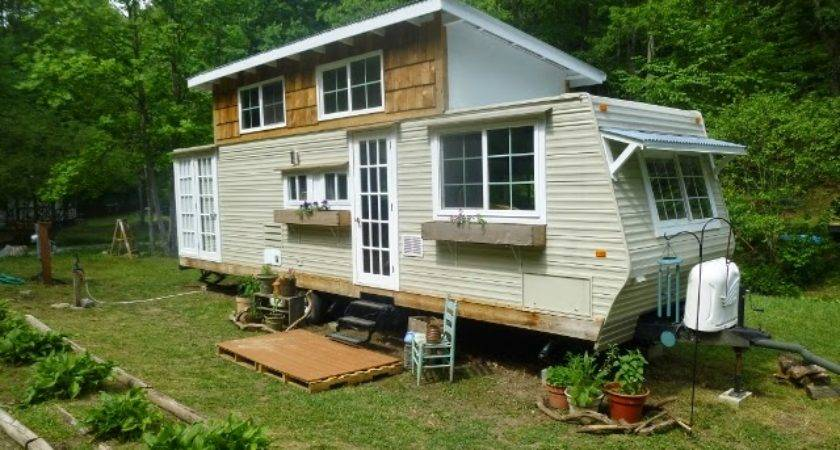 Spectacular Travel Trailer Tiny House Conversion