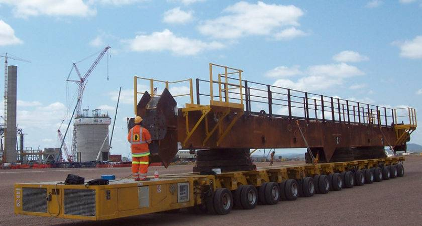 Spmt Self Propelled Modular Transporters Sinotrailers