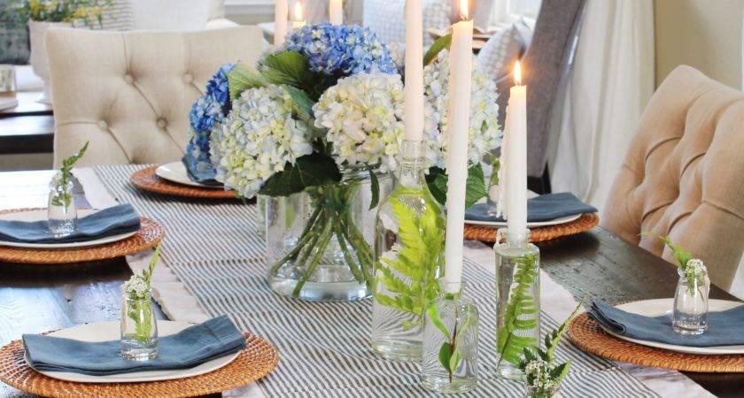 Spring Table Decorations Tablescape Blog Tour