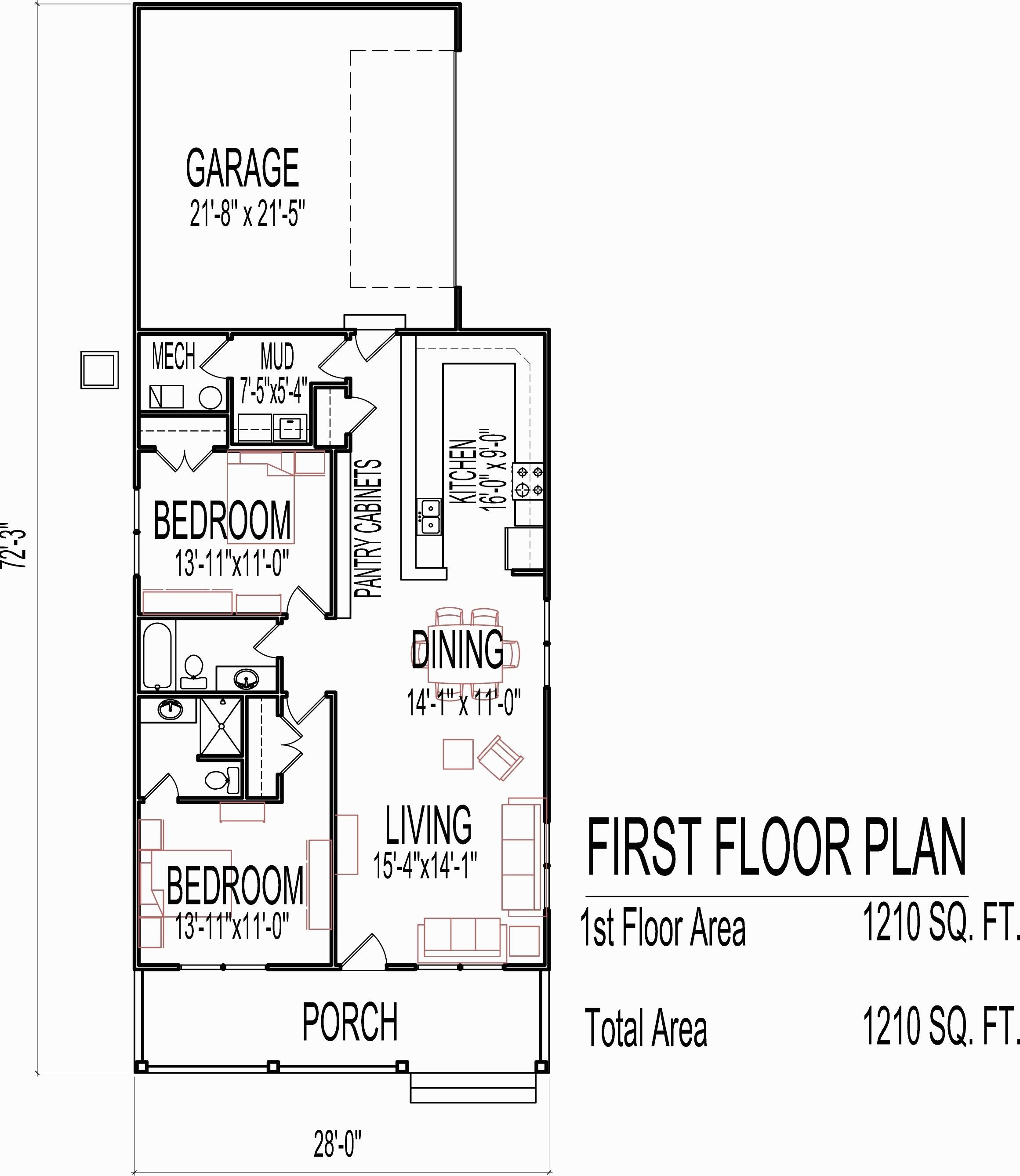 Square Feet House Plans Unique Floor