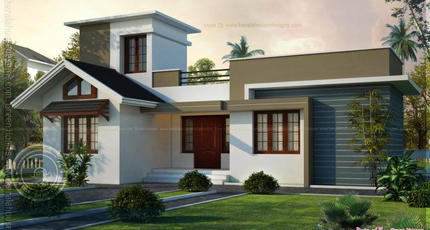 Square Feet Small House Design Kerala Home Floor
