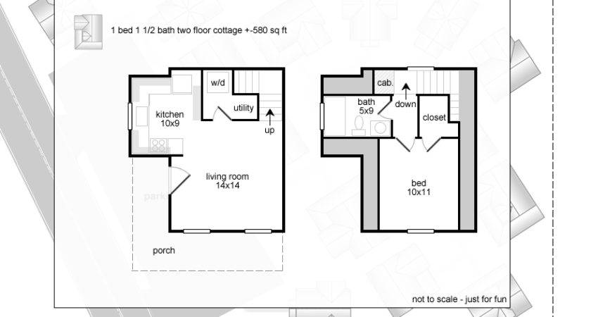 Square Foot House Plans Floor Small Country Cottage