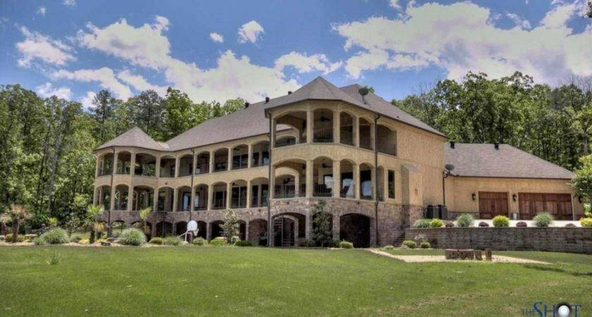 Square Foot Lakefront Mansion Conway Homes